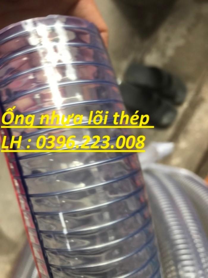 Ống nhựa mềm lõi thép phi 120 chuyên dẫn dầu, hóa chất chịu nhiệt tốt1