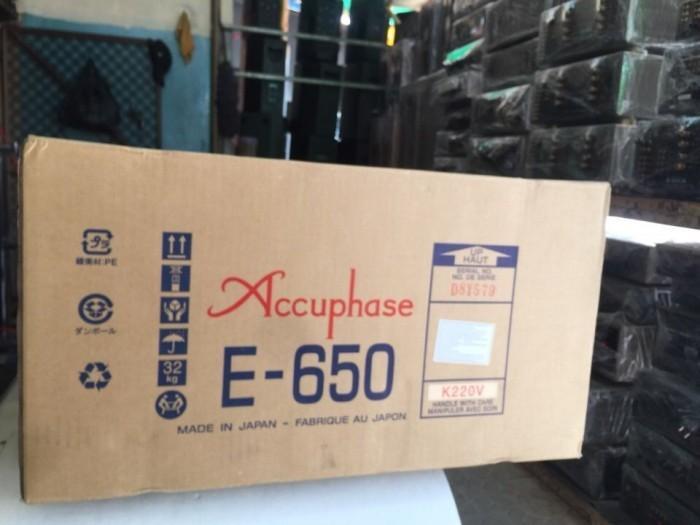 Bán chuyên Ampli Accuphase E650 hàng để1
