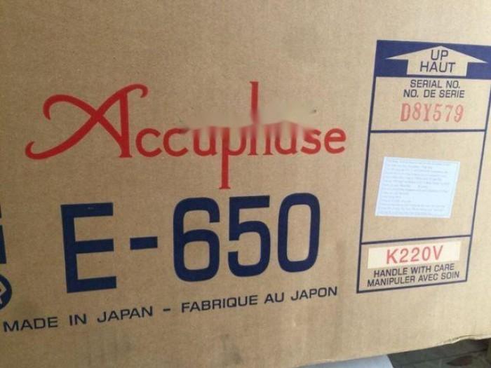 Bán chuyên Ampli Accuphase E650 hàng để3