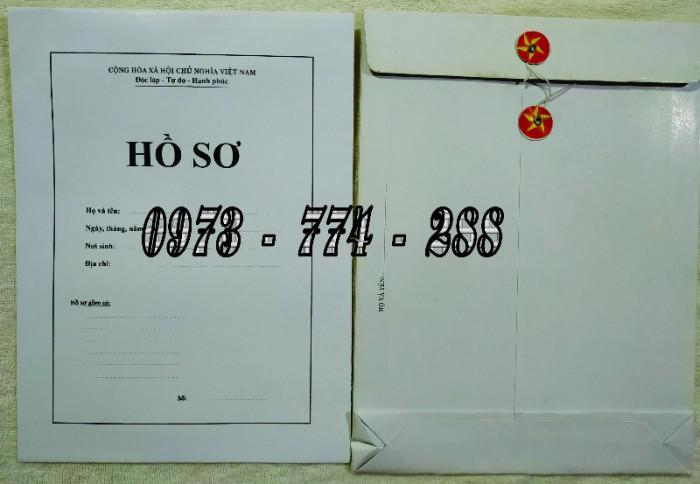 Bộ hồ sơ cán bộ viên chức, công chức có các loại mẫu18