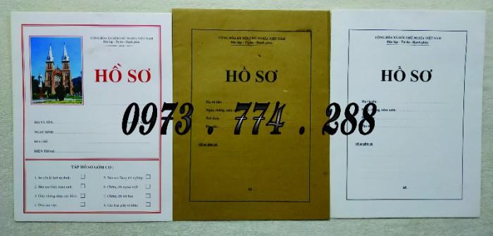 Bộ hồ sơ cán bộ viên chức, công chức có các loại mẫu20
