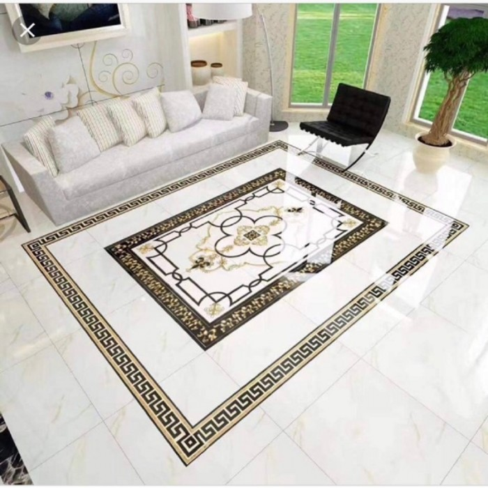 Gạch thảm lát phòng khách 3d4