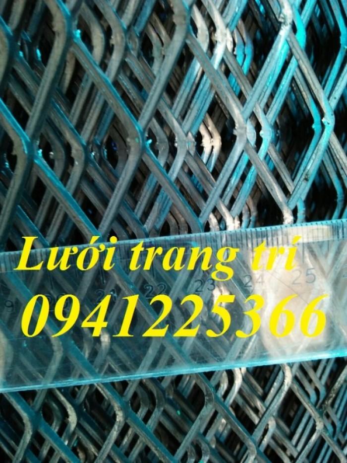 Lưới thép trang trí ,Lưới thép hình thoi,Lưới kéo giãn .0