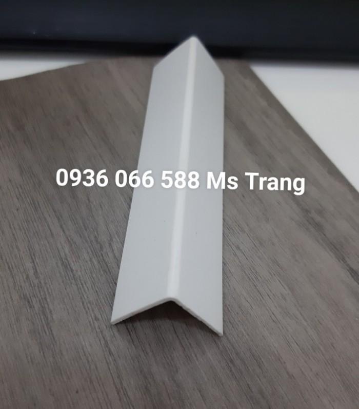 Nẹp nhựa PVC Cao cấp, nẹp chữ V, nẹp nhựa V, Nẹp góc ngoài, nẹp đi góc0