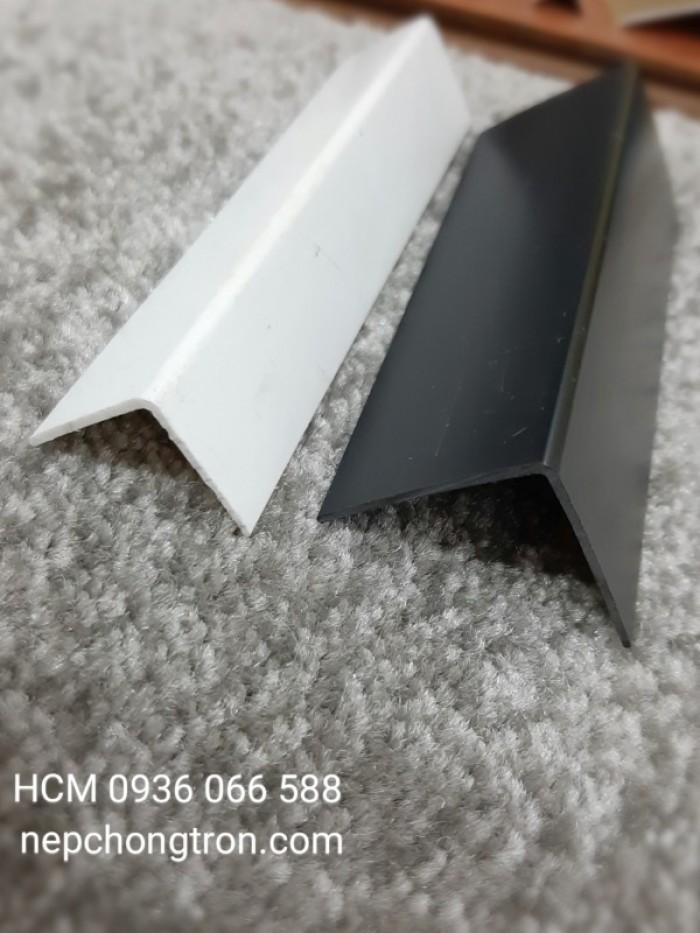 Nẹp nhựa PVC Cao cấp, nẹp chữ V, nẹp nhựa V, Nẹp góc ngoài, nẹp đi góc3
