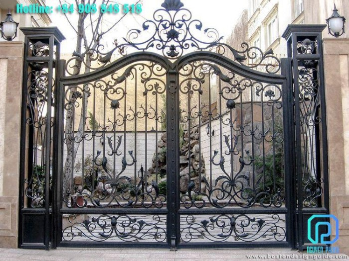 Các mẫu cổng sắt nghệ thuật nổi bật 20201