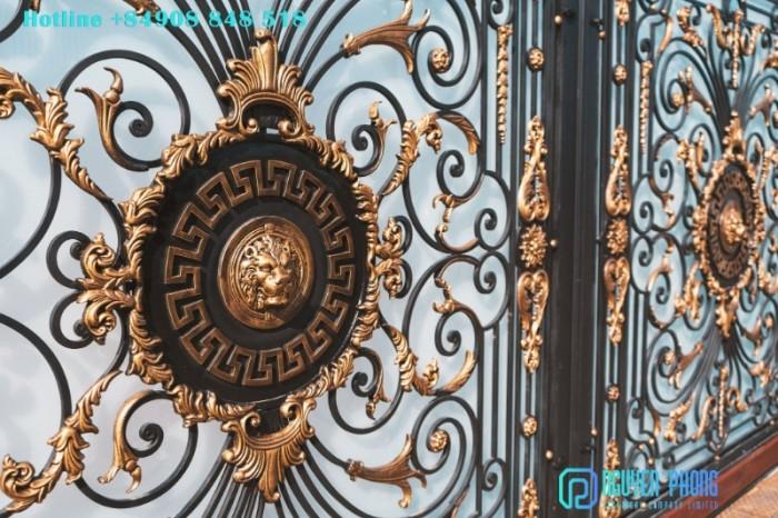Các mẫu cổng sắt nghệ thuật nổi bật 20203