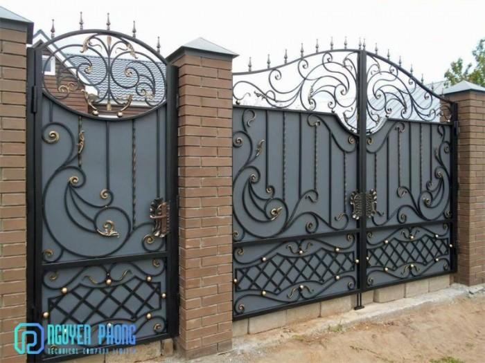 Các mẫu cổng sắt nghệ thuật nổi bật 20205