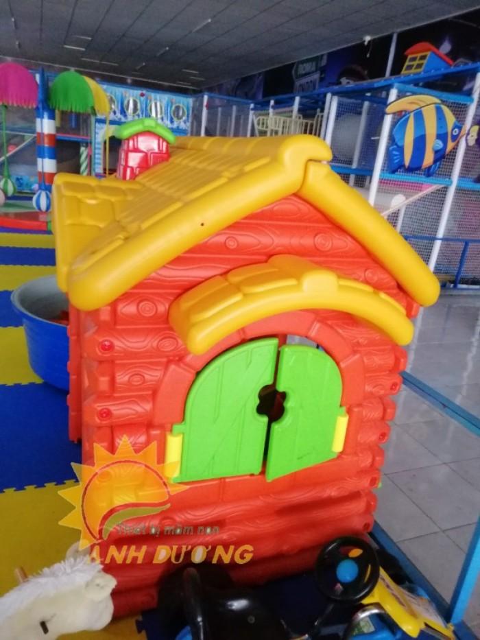 Cần bán nhà chơi dạng nhà cổ tích đáng yêu cho trẻ em mầm non1