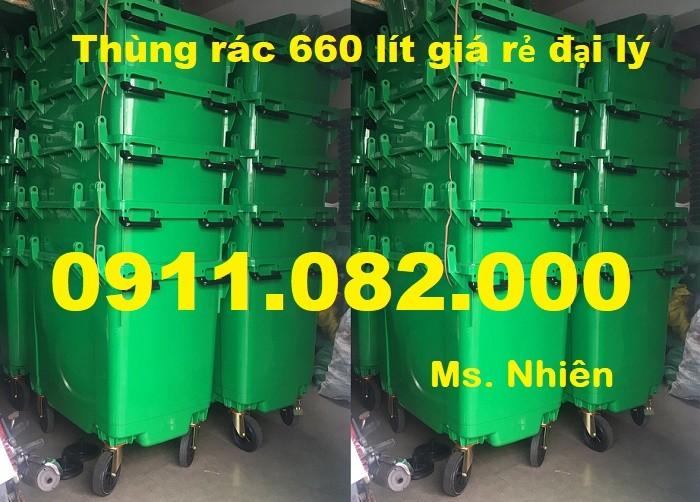Thùng rác 240 lít giá rẻ- lh 0911.082.000- Ms Nhiên1