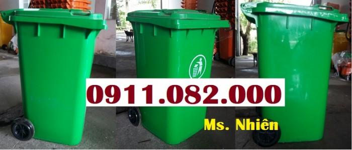 Thùng rác 240 lít giá rẻ- lh 0911.082.000- Ms Nhiên2
