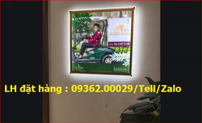 Tranh siêu mỏng mica- Biển hộp đèn siêu mỏng sản xuất tại Hà Nội