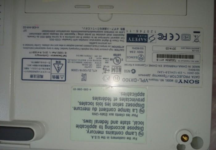 MÁY CHIẾU SONY VPL-DX100 Đẹp như mới3