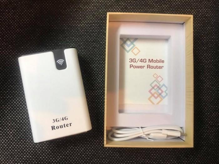 Bộ phát wifi từ sim 3G/4G kiêm pin dự phòng 7800mah2