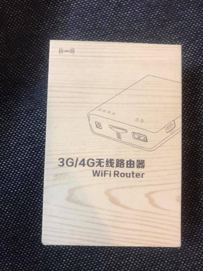 Bộ phát wifi từ sim 3G/4G kiêm pin dự phòng 7800mah6