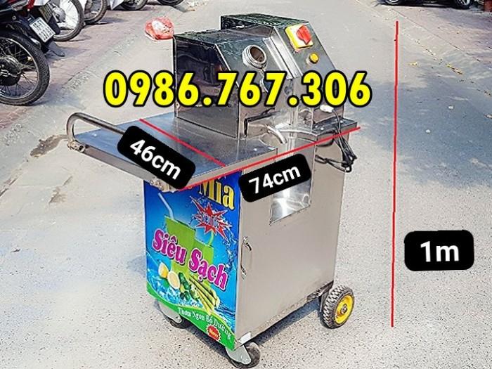 Máy ép nước mía 1 lần siêu sạch,máy ép mía 3 lô chính hãng giá rẻ.0