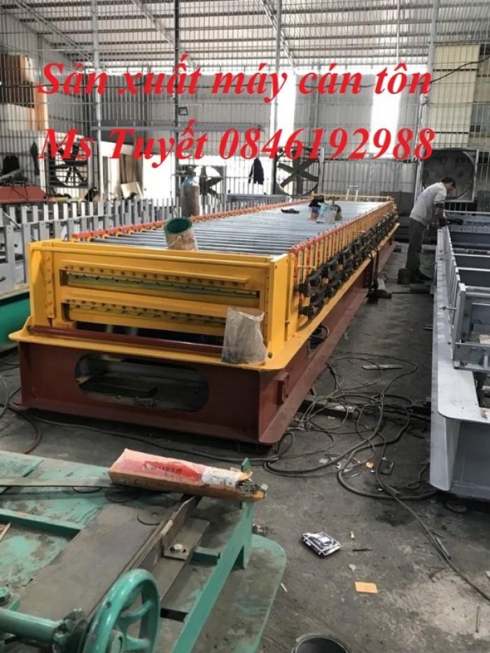 Chuyên sản xuất máy cán tôn 3 tầng, giao hàng tận nơi, lắp đặt miễn phí3