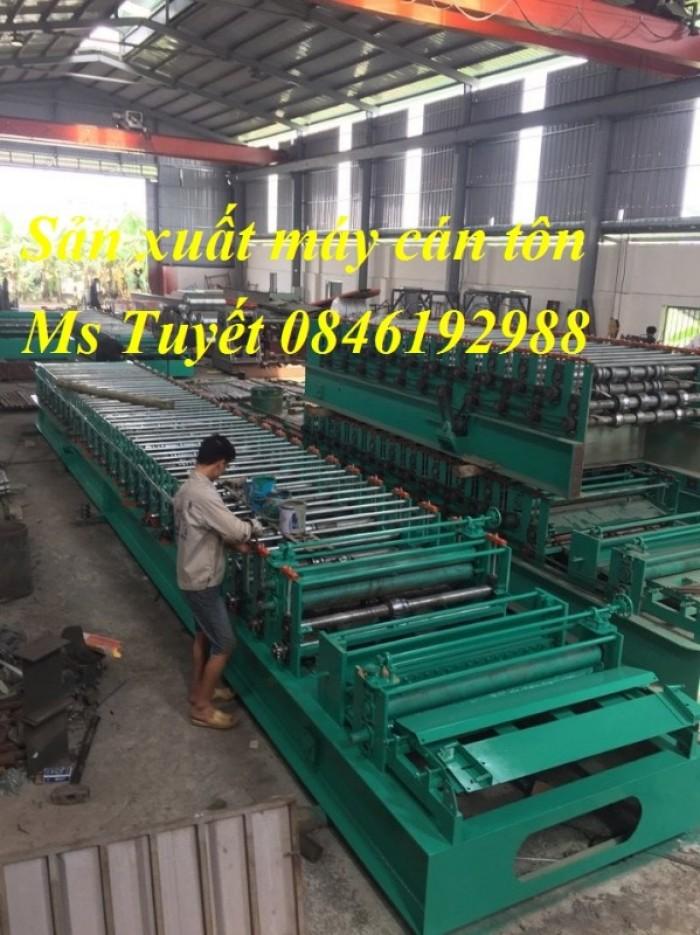 Chuyên sản xuất máy cán tôn 3 tầng, giao hàng tận nơi, lắp đặt miễn phí4