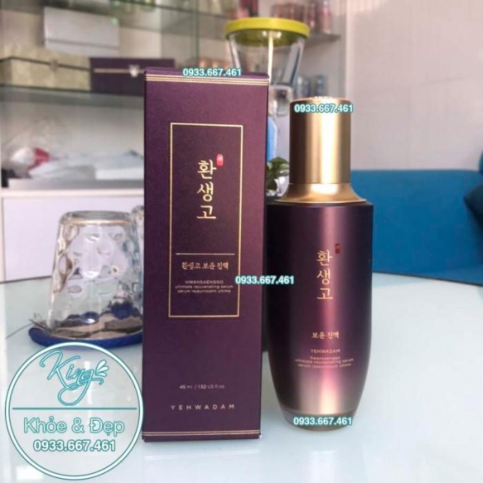 Tinh Chất Yehwadam Hwansaenggo Serum 45ml0