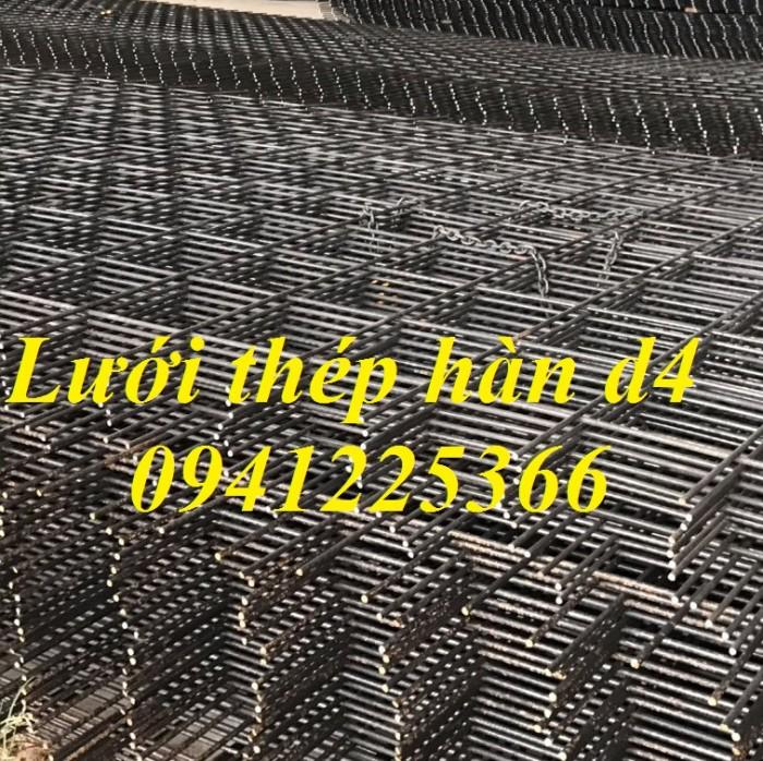 Lưới thép hàn D4a200x200 dạng cuộn khổ 2mx25m,dạng tấm ,làm theo yêu cầu3