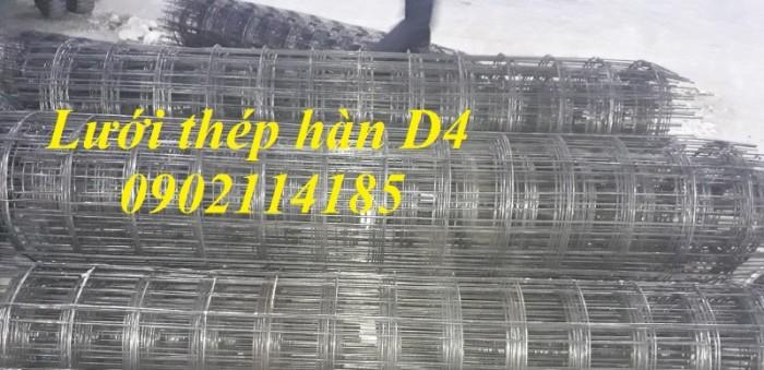 Lưới thép hàn D4a200x200 dạng cuộn khổ 2mx25m,dạng tấm ,làm theo yêu cầu5