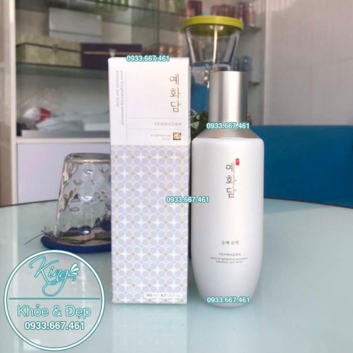 Sữa Dưỡng Yehwadam Pure Brightening Emulsion 140ml1