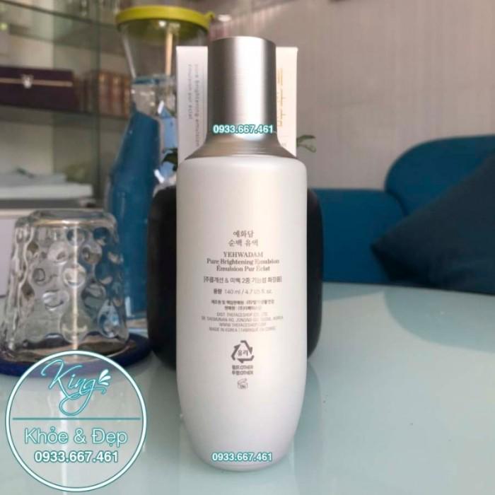 Sữa Dưỡng Yehwadam Pure Brightening Emulsion 140ml0