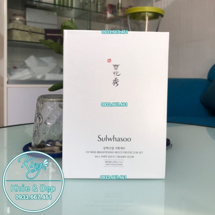 Kem Chống Nắng Sulwhasoo UV Wise Brightening Multi Protector Set SPF50+++1