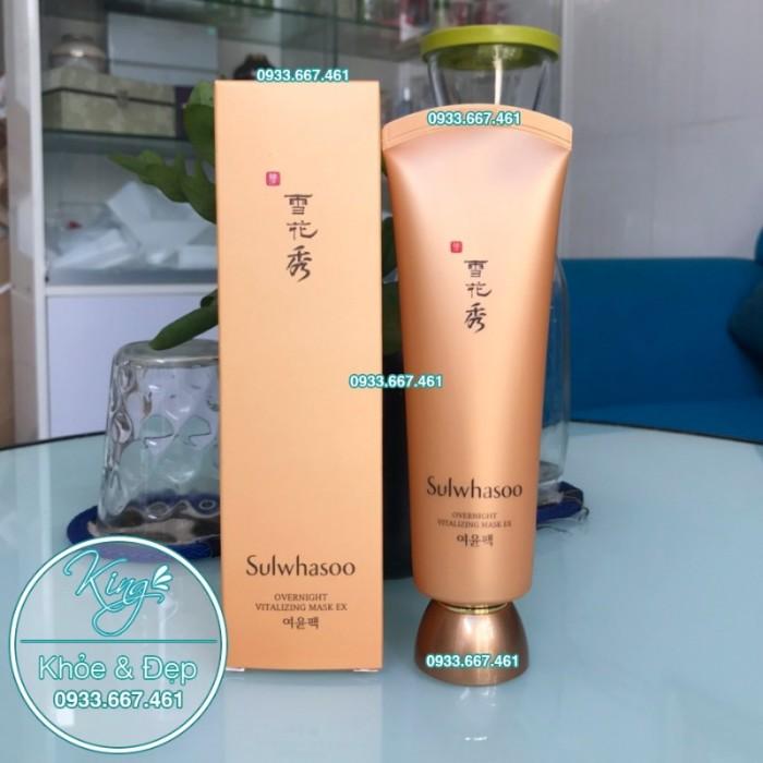 Mặt Nạ Ngủ Sulwhasoo Overnight Vitalizing Mask EX 120ml0
