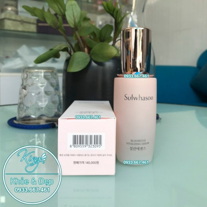 Tinh Chất Sulwhasoo Bloomstay Vitalizing Serum 50ml2