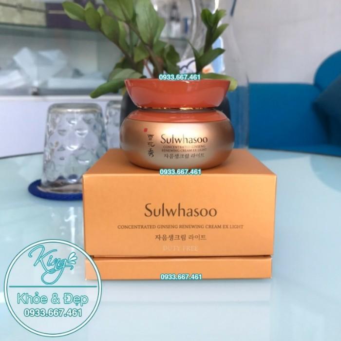 Kem Dưỡng Da Sulwhasoo Concentrated Ginseng Renewing Cream EX Light 60ml1