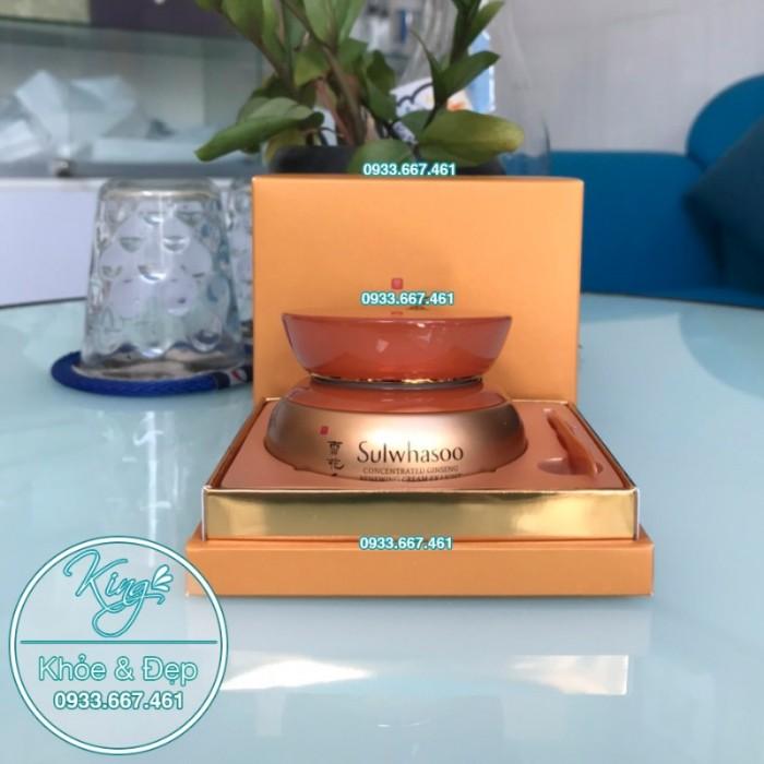 Kem Dưỡng Da Sulwhasoo Concentrated Ginseng Renewing Cream EX Light 60ml0
