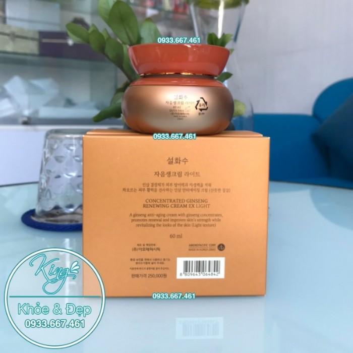 Kem Dưỡng Da Sulwhasoo Concentrated Ginseng Renewing Cream EX Light 60ml2