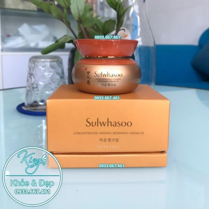 Kem Dưỡng Da Sulwhasoo Concentrated Ginseng Renewing Cream EX 60ml0