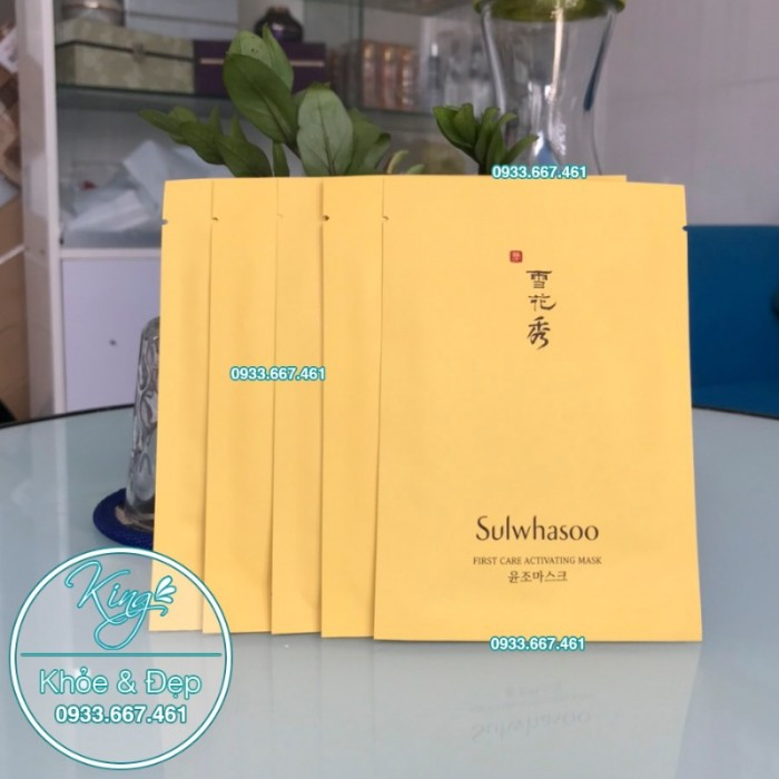 Mặt Nạ Sulwhasoo First Care Activating Mask 5 Miếng1