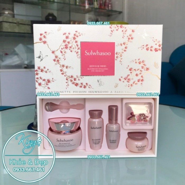 Bộ Sulwhasoo Bloomstay Vitalizing Cream Set2