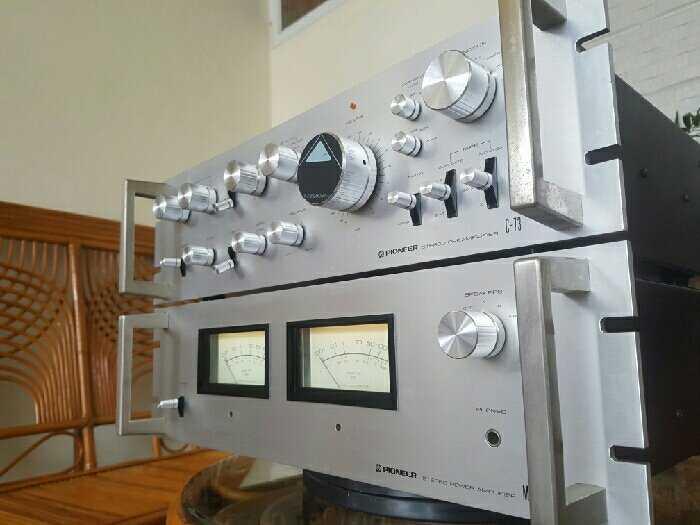 Bộ Kéo Đẩy . PRE- POW PIONEER -M73-C730