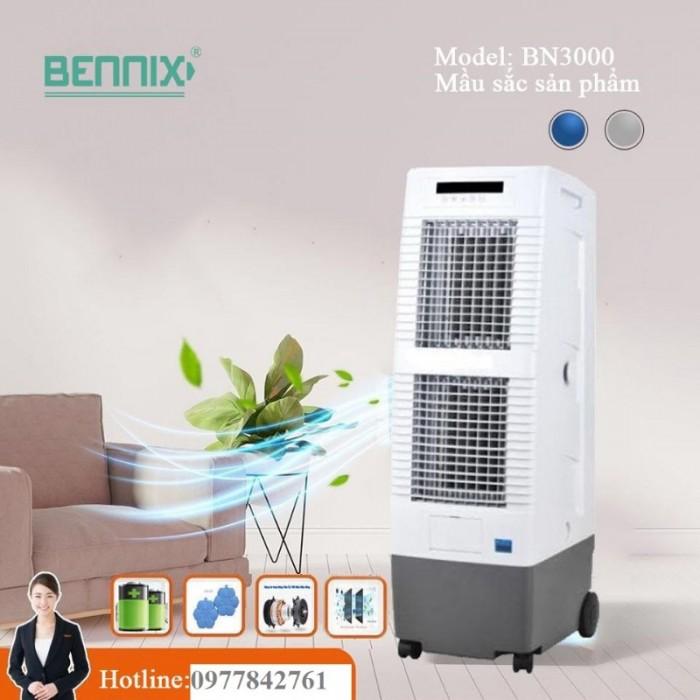 Quạt làm mát 2 tầng Bennix Bn3000  nhập khẩu Thái Lan công suất 150w2