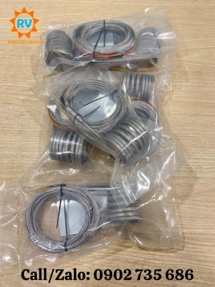 Điện trở lò xo 4mm2 40*50 ,30*40 / 220V-380V - 500W3