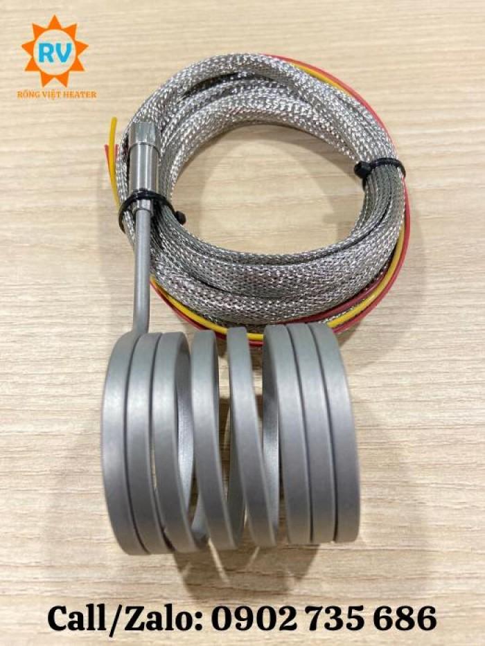 Điện trở lò xo 4mm2 40*50 ,30*40 / 220V-380V - 500W4