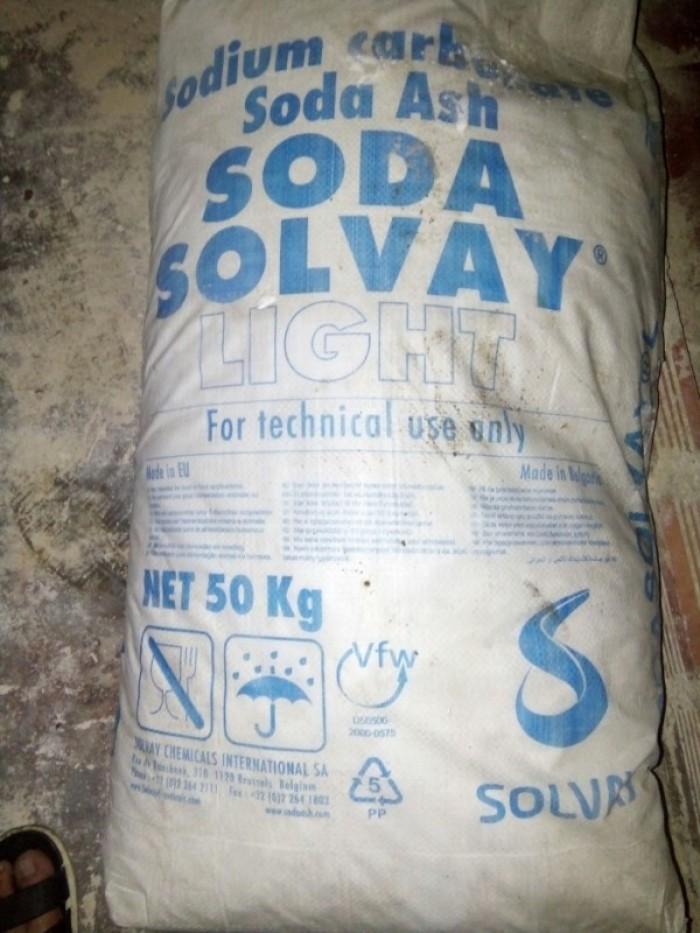 SODA nóng - Solvay bao 50kg0