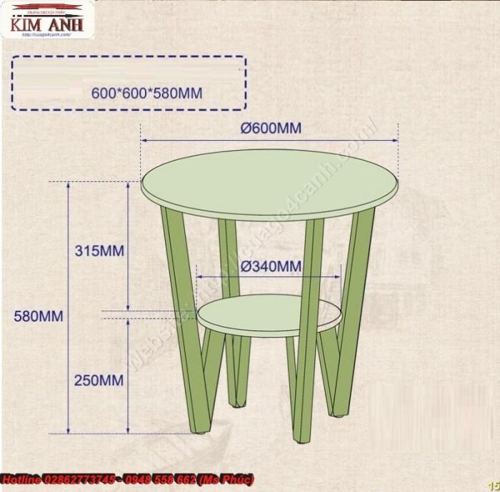 Mẫu bàn sofa vuông9