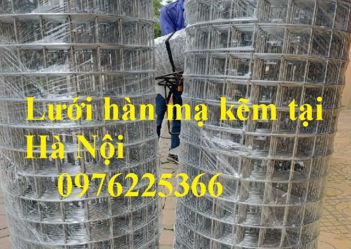 Lưới thép mạ kẽm ô 25x25mm,30x30mm, 50x50mm, 100x100mm0