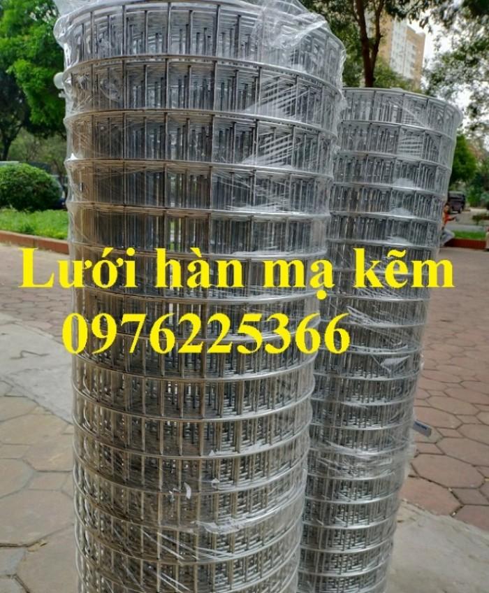 Lưới thép mạ kẽm ô 25x25mm,30x30mm, 50x50mm, 100x100mm2