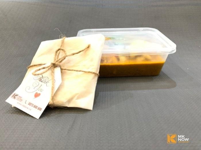 Combo đồ ăn Cà ri gà & Bánh mì Naan Ấn Độ - MK04 - Ảnh: 10