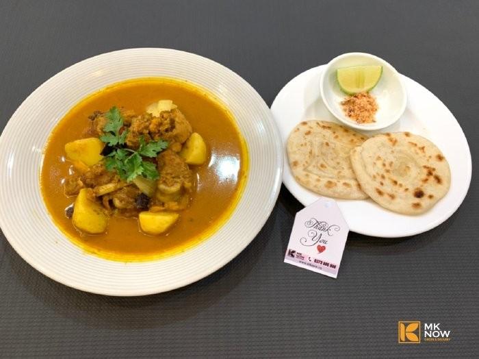Combo đồ ăn Cà ri gà & Bánh mì Naan Ấn Độ - MK04 - Ảnh: 21