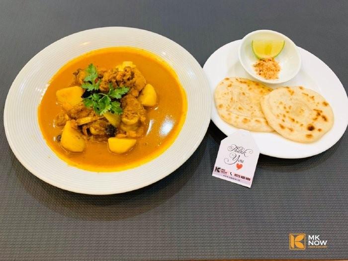 Combo đồ ăn Cà ri gà & Bánh mì Naan Ấn Độ - MK04 - Ảnh: 43