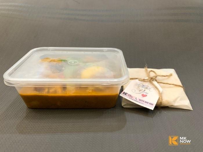 Combo đồ ăn Cà ri gà & Bánh mì Naan Ấn Độ - MK04 - Ảnh: 32