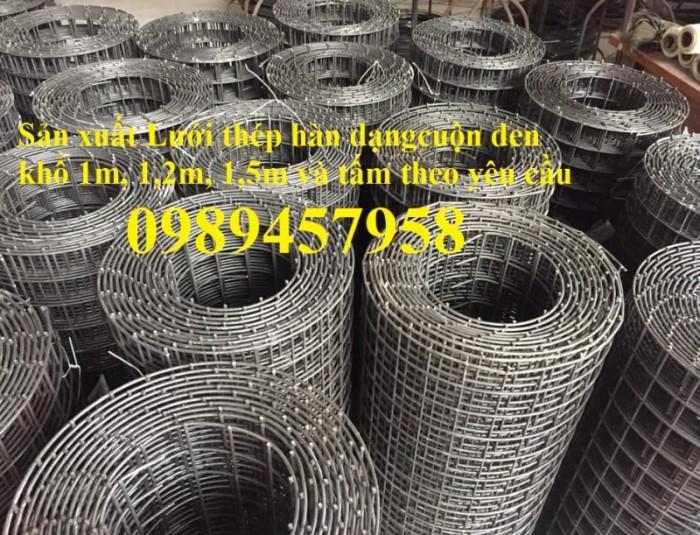 Sản xuất lưới hàn chập phi 3 khổ 1mx2m, 1,2mx2m, 1,5mx3m theo đơn hàng0