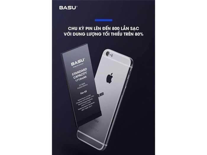 Pin iphone 6S , Pin iphone các loại Hàng chính hãng BASU